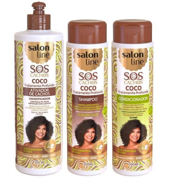 Professional Home Care Treatment Kit Sos Coconut Curls 3 Products Sa The Keratin Store