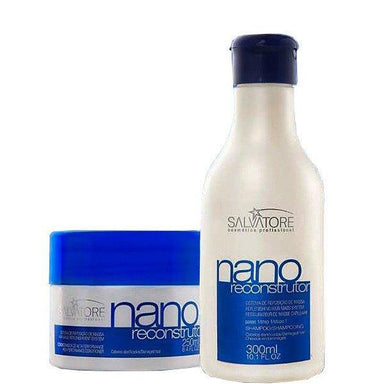 Salvatore Brazilian Hair Treatment Nano Reconstructor Duo Kit - Salvatore