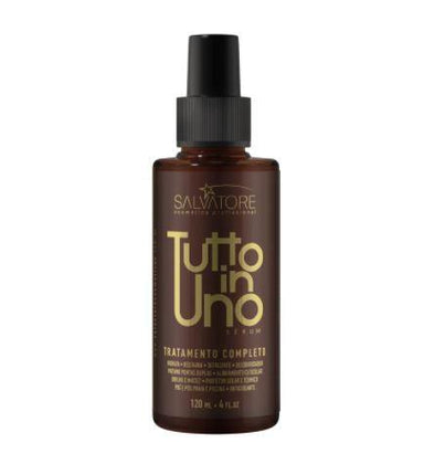 Salvatore Brazilian Keratin Treatment Tutto in Uno Thermal Protector Brightness Sérum Finisher Spray 120ml - Salvatore