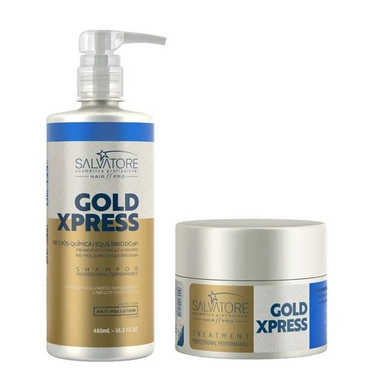 Salvatore Home Care Gold Xpress Treatment Home Care - Salvatore