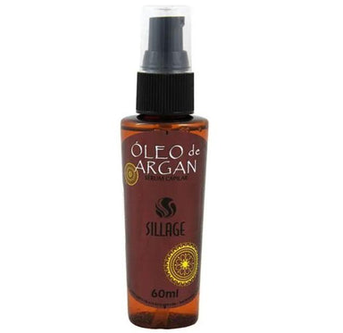 Sillage Brazilian Keratin Treatment Argan Oil Serum Multifunctional Smoothness Anti Frizz Finisher 60ml - Sillage