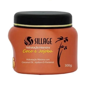 Sillage Hair Mask Coconut Jojoba D-Panthenol Maintenance Home Care Hair Mask 300g - Sillage