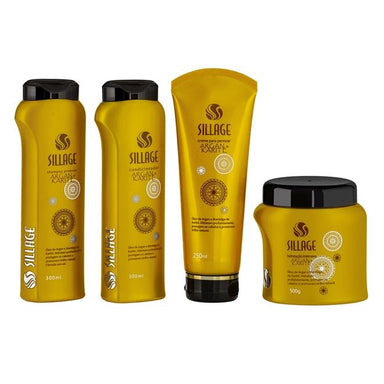 Sillage Home Care Argan Shea Karité Intensive Moisturizing Maintenance Kit 4 Products - Sillage