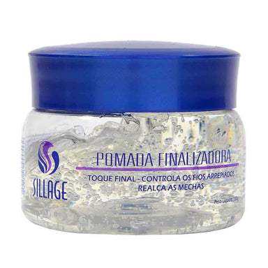 Sillage Home Care Finishing Ointment Fixing Paste Final Touch Anti Frizz Finisher 130g - Sillage
