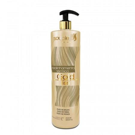 Gold Liss Thermal Realignment Sealing Macadamia Argan Treatment 1L - Souple Liss
