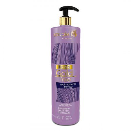 Hydration Tinting Thermal Realignment Blond Gold Free Treatment 1L - Souple Liss