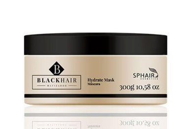 Sphair Hair Mask Professional Black Hair Hydrate Toning Moisturizing Treatment Mask 300g - Sphair