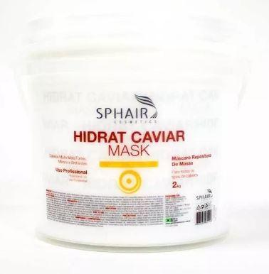 Sphair Hair Mask Professional Hidrat Caviar Treatment Mask 2kg - Sphair