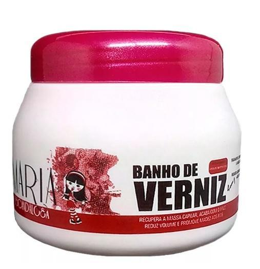 Professional Varnish Bath 4 in 1 Hair Treatment Mask 250g - Maria Escandalosa