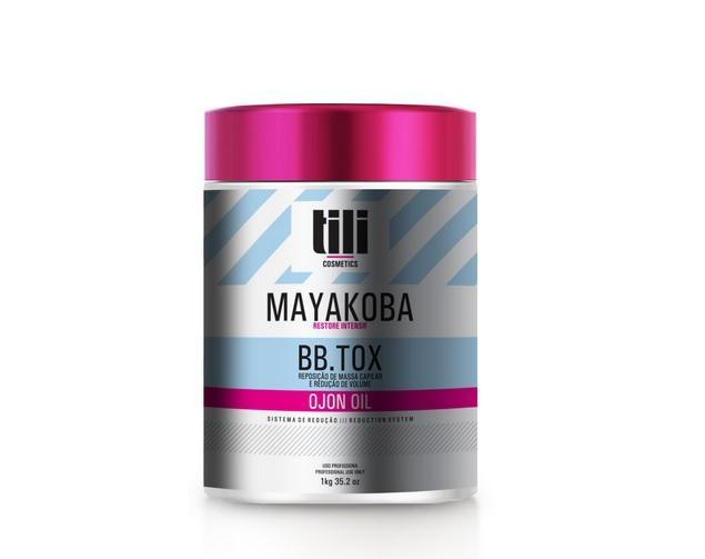 Tili Cosmetics Hair Mask Default Title Mayakoba Bbtox Hair Mask 1kg - Tili Cosmetics