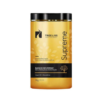 Tree Liss Hair Mask Supreme Varnish Bath Mask 1kg - Tree Liss
