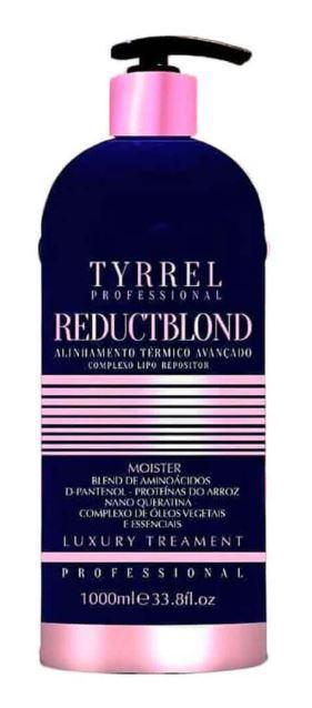 Tyrrel Brazilian Keratin Treatment No Formol Progressive Treatment ReductBlond Moister Luxury Treatment 1L - Tyrrel