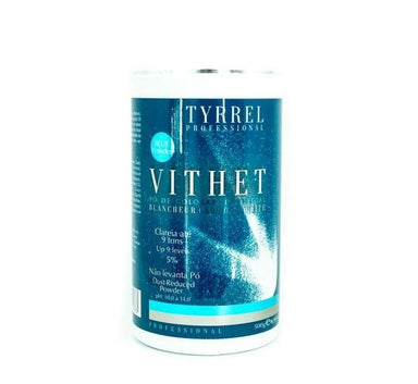 Tyrrel Brazilian Keratin Treatment Professional Discoloration Dust-Reduced 9 Tones Blue Powder Vithet 500g - Tyrrel