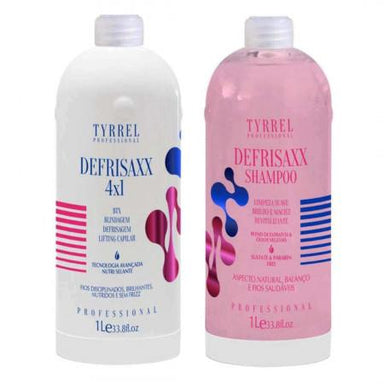 Tyrrel Defrisaxx 4x1 Bt-o.x Shield And Lifting Hair 2x1Litro - Tyrrel