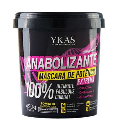 Y-Kas Hair Mask Anabolic Hair Treatment Extreme Power Mask Ultimate Fabulous Combat 450g - Y-Kas