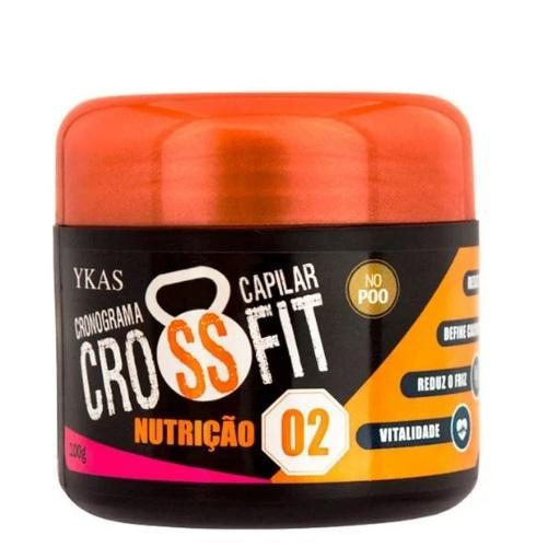No Poo Crossfit Capillary Schedule SOS Express Hair Treatment 3x100g - Ykas