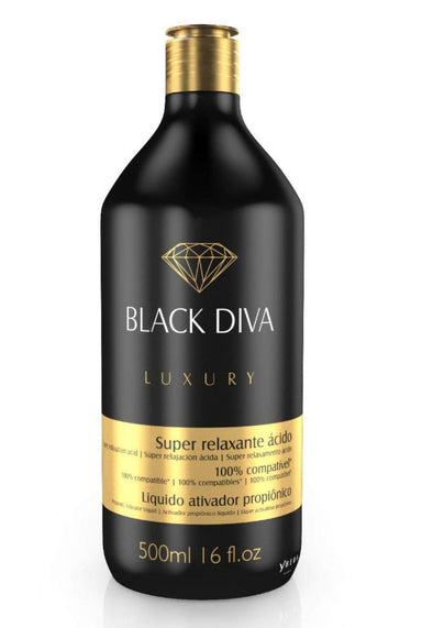 Ybera Brazilian Keratin Treatment Black Diva Propionic Activating Liquid Luxury Hair Treatment 500ml - Ybera Paris