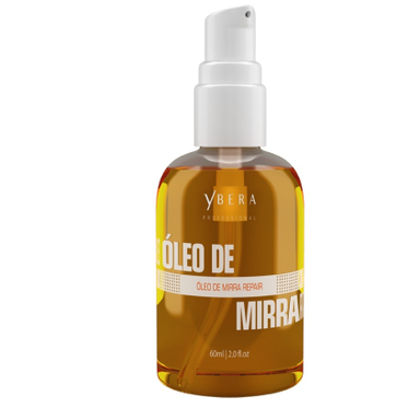 Ybera Hair Oil Finisher Intensive Hydration Reconstruction Repair Myrrh Oil 60ml - Ybera Paris