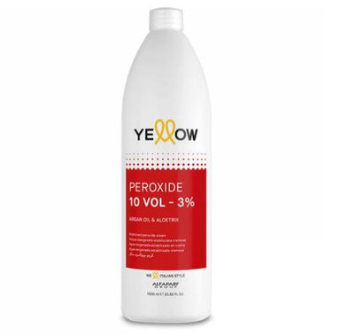 Yellow Brazilian Keratin Treatment Color Activator Line Discoloration Hydrogen Peridoxe OX 10 Vol. 3% 1L - Yellow