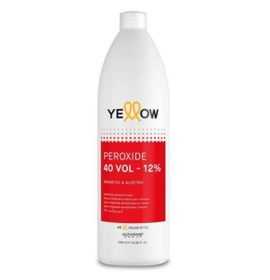 Yellow Brazilian Keratin Treatment Color Activator Line Discoloration Hydrogen Peridoxe OX 40 Vol. 12% 1L - Yellow