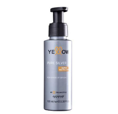 Yellow Brazilian Keratin Treatment Pure Silver Açai Rose of Jericho Super Neutralizer Leave-In 100ml - Yellow