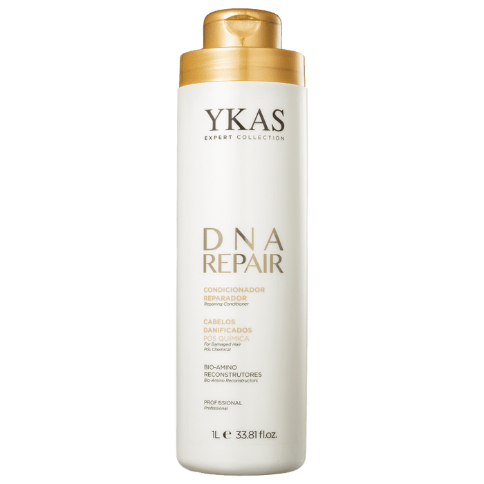 YKas Brazilian Hair Treatment DNA Repair For Damaged Hair / Pos Chemical  Conditioner 1000ml - YKAS