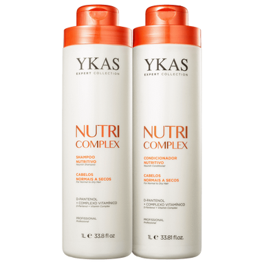 YKas Brazilian Hair Treatment Nutri Complex Kit Salon Duo (2 Products) - YKAS