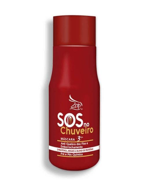Shower SOS Pre/Pos Chemical Anti Breakage and Anti-Rubber 300ml - Zap Cosmetics