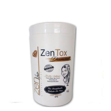 Zen Hair Brazilian Keratin Treatment Zentox Diamond Free Intense Brightness Volume Reducer Sealing 1Kg - Zen Hair