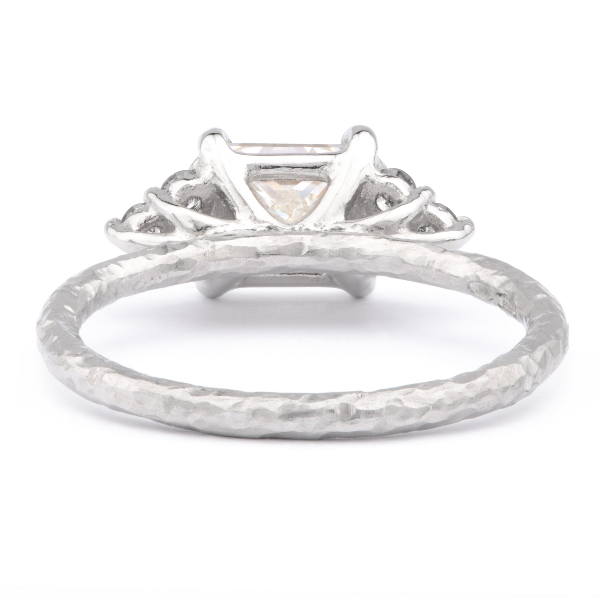 1.25ct Princess Cut Diamond and Platinum Ring - James Newman Jewellery