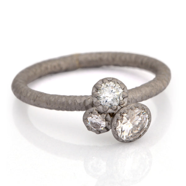 Fiori Cluster Ring - James Newman Jewellery