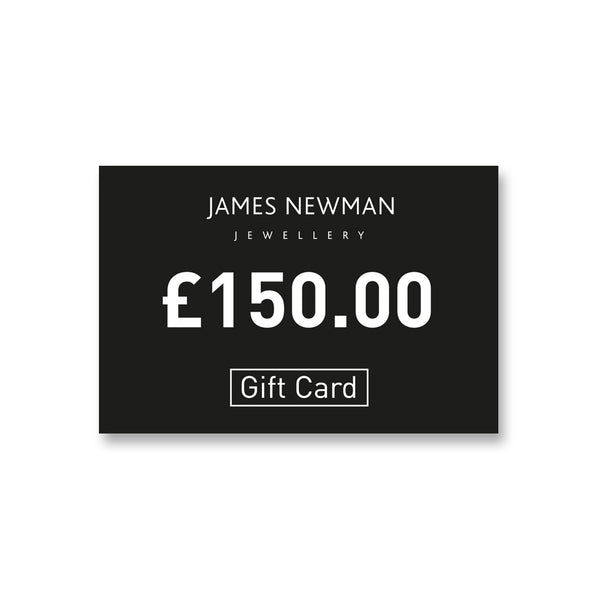 3. £150 Gift Card - James Newman Jewellery