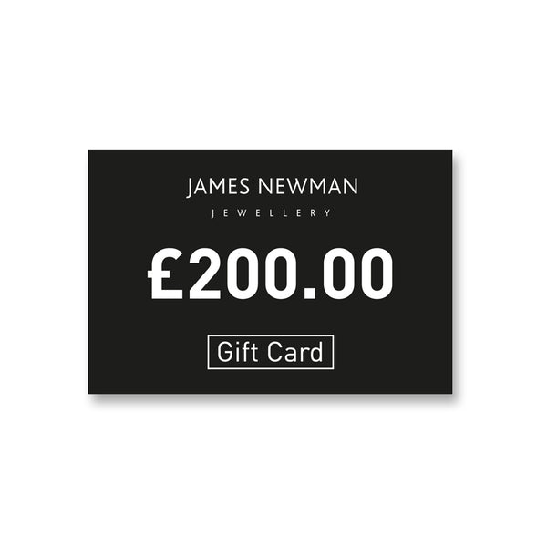 4. £200 Gift Card - James Newman Jewellery