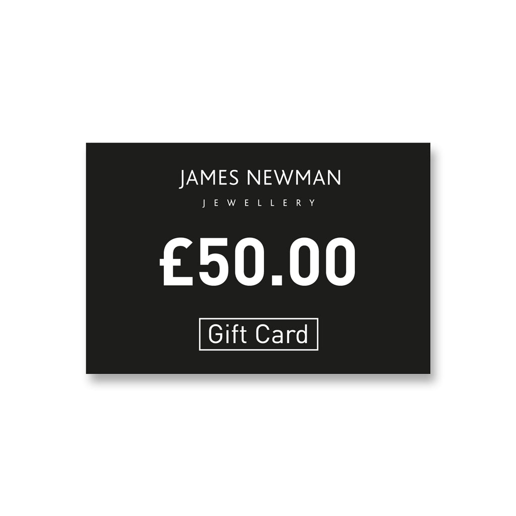 1. £50 Gift Card - James Newman Jewellery