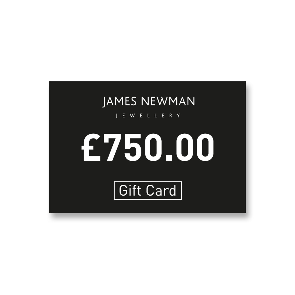 7. £750 Gift Card - James Newman Jewellery