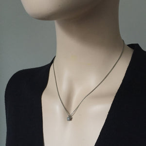 Small Cluster Diamond Pendant - James Newman Jewellery