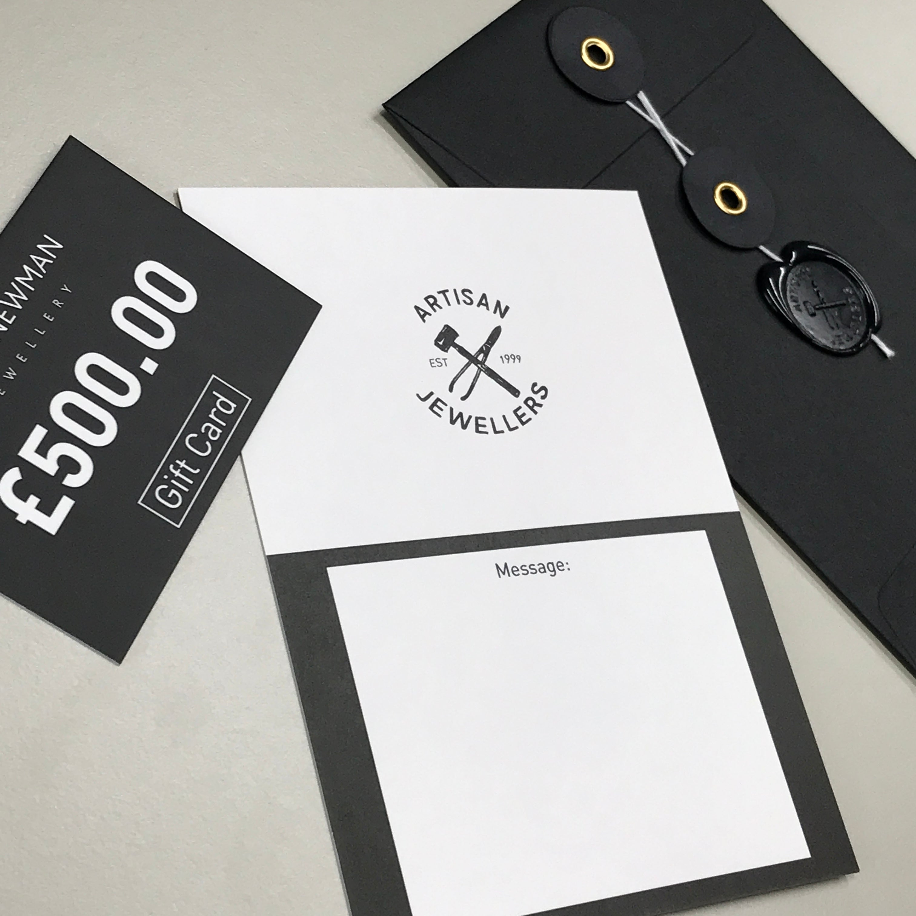5. £250 Gift Card - James Newman Jewellery