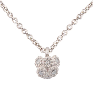 Small Cluster Diamond Pendant