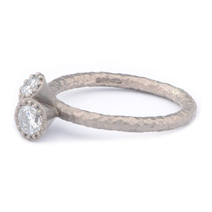 Fiori Triple Set Diamond Ring - James Newman Jewellery