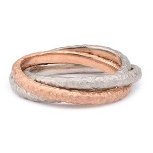 Fiori Russian Wedding Band - James Newman Jewellery