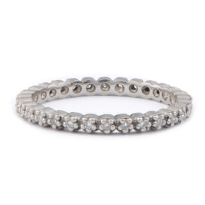 Fiori Full Eternity Ring - James Newman Jewellery