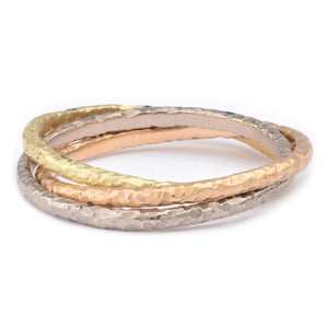 Russian Wedding Band - James Newman Jewellery