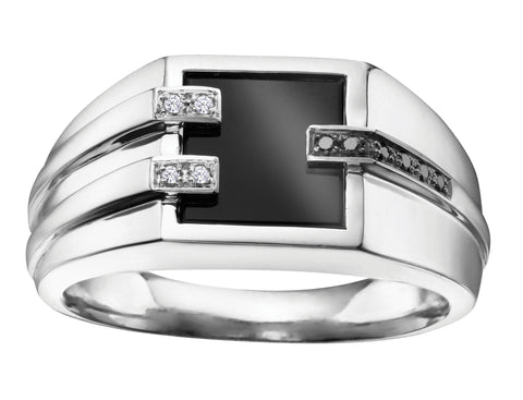 Gents Onyx Ring