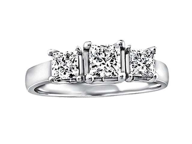 FIJ2018 Princess Cut Trinity Ring