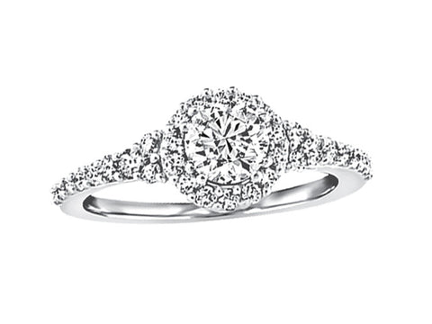 CAD2169 - Halo Ring