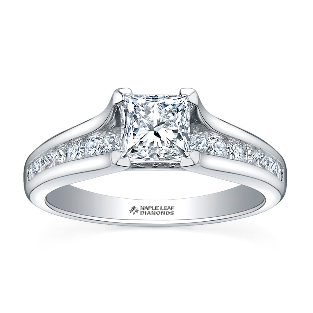 princess product glacier cut fire diamond engagement lg ring canadian