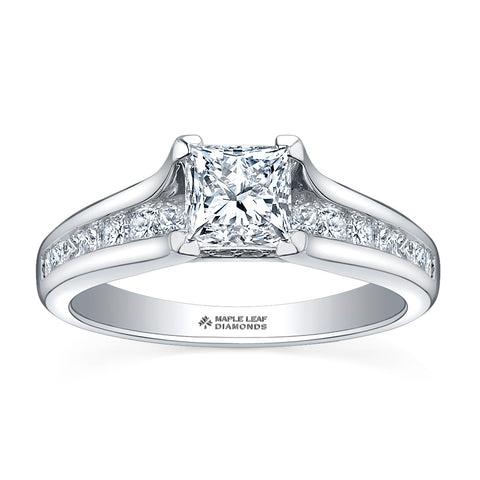 ML119 Canadian Diamond Engagement Ring