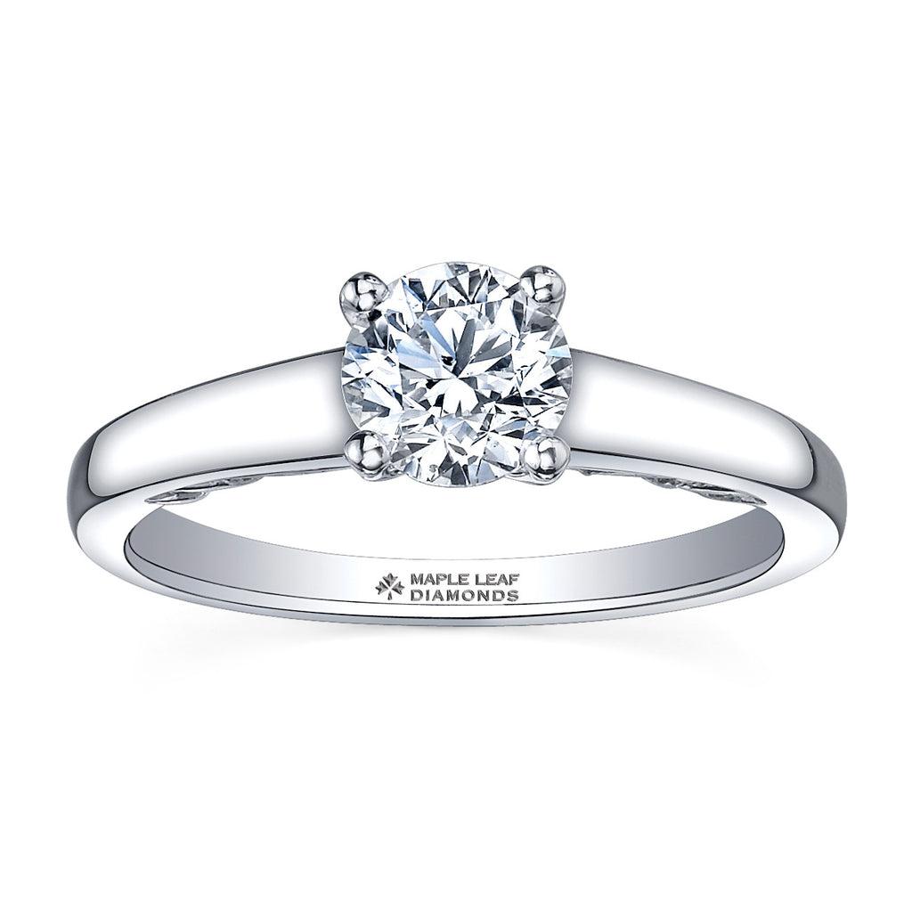 ML163 Canadian Diamond Engagement Ring