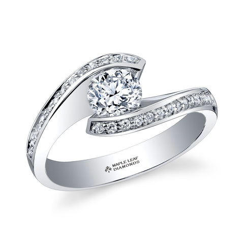 ML180 Canadian Diamond Engagement Ring