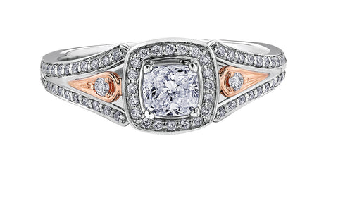 ML347 - Canadian Diamond Engagement Ring